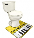 Музыкальный коврик для туалета