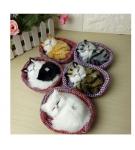 Игрушечные мяукающие котята 29 см