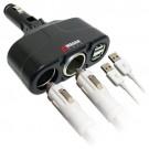 Зарядка Wagan Twin USB/DC