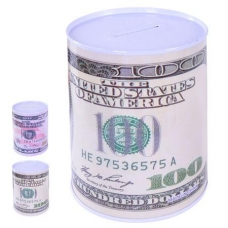 Копилка-доллар в форме банки