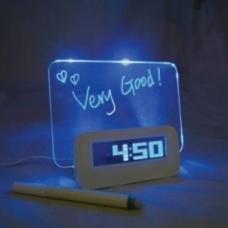 Будильник с LED доской