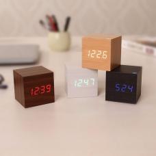 Часы-кубик реагирующие на хлопок