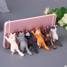 Подставка для телефона в виде кошки