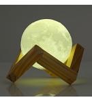 Настольная сенсорная 3D лампа-луна