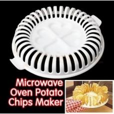 Низкокалорийные чипсы в микроволновке