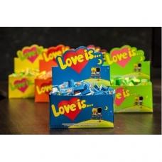"Блок жевачки ""Love is"""