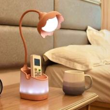 Многофункциональный настольный LED светильник