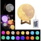 Светильник-ночник Луна с пультом