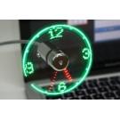 USB Вентилятор - Часы