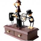 Музыкальная шкатулка швейная машинка
