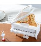 Музыкальная шкатулка-рояль с балериной