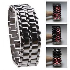 LED-часы Samurai Silver