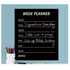 Самоклеющаяся пленка «Week planner»