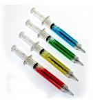 Шариковая ручка-шприц