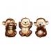 Статуэтка три обезьянки
