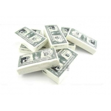 Салфетки в виде доллара
