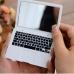 Карманное зеркальце в виде MacBook Air