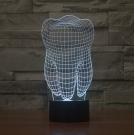 3D Светильник Зуб